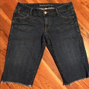 Denim Bermuda shorts Size 7